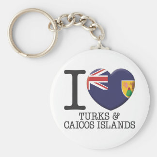 Turks and Caicos Islands Key Ring