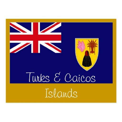 Turks and Caicos Islands postcard