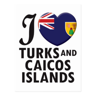 Turks and Caicos Islands. Postcard