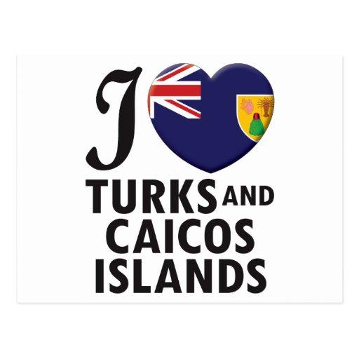 Turks and Caicos Islands. Postcard