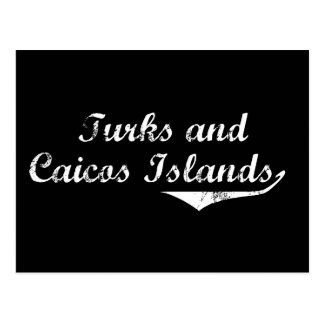 Turks and Caicos Islands Revolution Style Post Cards