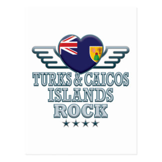 Turks and Caicos Islands Rock v2 Post Card