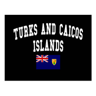 Turks and Caicos Islands Style Postcard