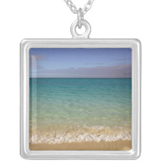 Turks and Caicos, Providenciales Island, Grace 2 Silver Plated Necklace