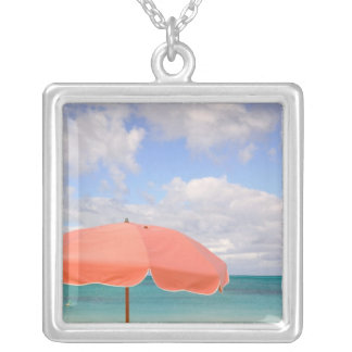 Turks and Caicos, Providenciales Island, Grace Silver Plated Necklace