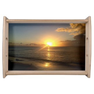 Turks ans Caicos Sunset Serving Tray