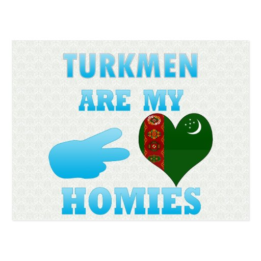 Turks are my Homies Post Cards