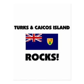 Turks & Caicos Island Rocks Postcards