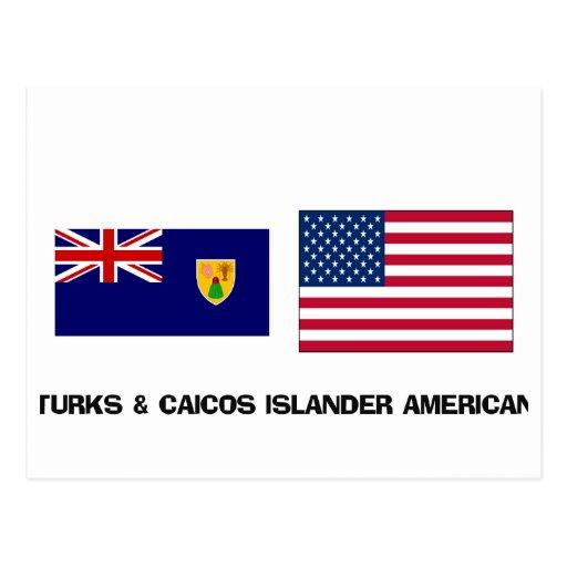 Turks & Caicos Islander American Postcards