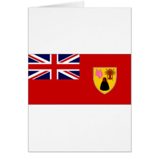 Turks Caicos Islands Civil Ensign Card