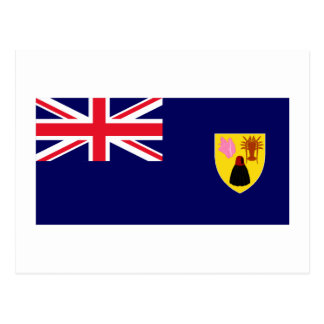 Turks & Caicos Islands Flag Post Cards