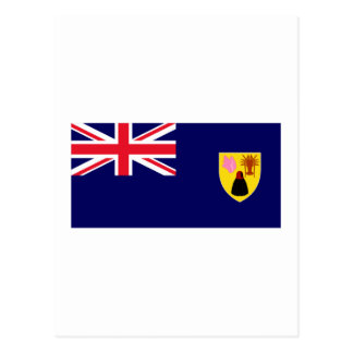 Turks & Caicos Islands Flag Postcard