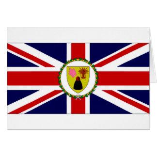 Turks Caicos Islands Governor Flag Cards