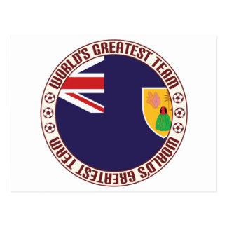 Turks & Caicos Islands Greatest Team Postcard