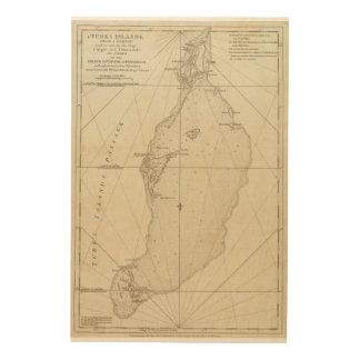 Turks Islands Wood Print