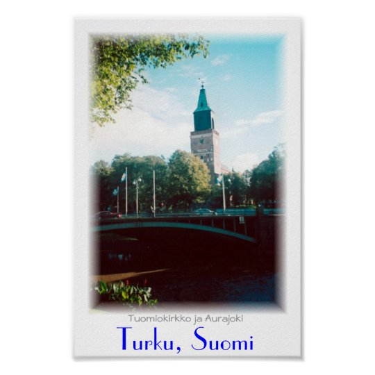 Turku Cathedral Poster