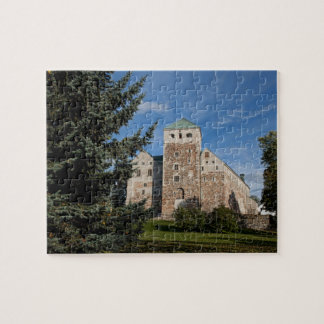 Turku, Finland, ancient Turun Linna Castle, a Jigsaw Puzzle