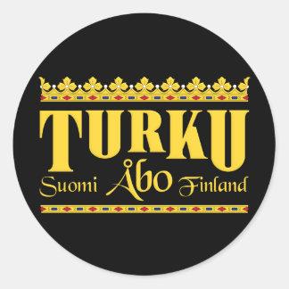 Turku Finland stickers