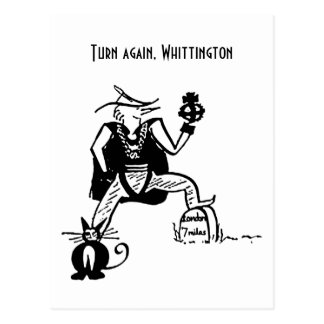 Turn Again Whittington Postcards