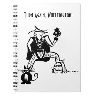 Turn Again, Whittington Spiral Notebook