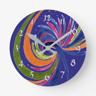 Turn Back the Time Backwards Clock-Gaity Round Clock