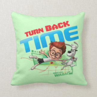 Turn Back Time Cushion