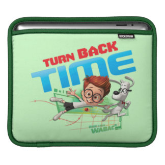 Turn Back Time iPad Sleeve