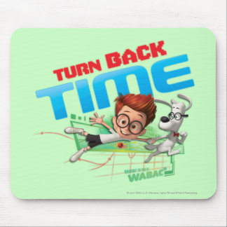 Turn Back Time Mouse Pad
