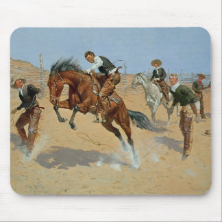 Turn Him Loose, Bill, c.1893 (oil on canvas) Mouse Pad