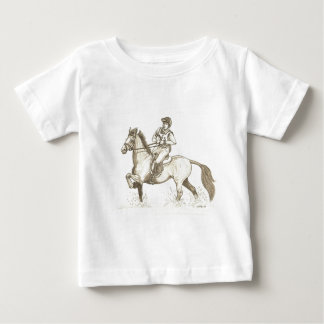 TURN IN THE WATER Eventing Horse Art Shirts