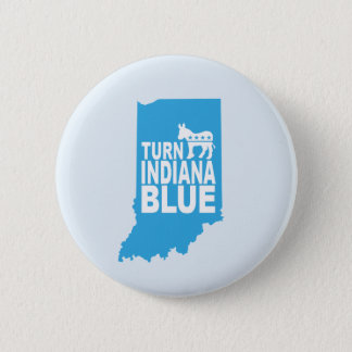 Turn Indiana Blue Progressive Button | Resist!