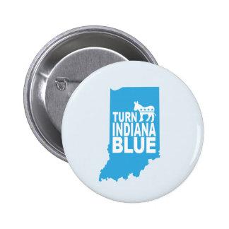 Turn Indiana Blue Progressive Button | Resist!