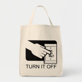 Turn It Off Tote Bag