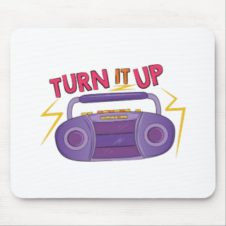 Turn It Up Mouse Pad