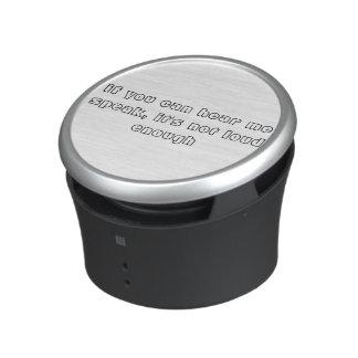 Turn it up Speakers Speaker