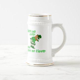Turn Me Over and Kiss Me Clover Mug