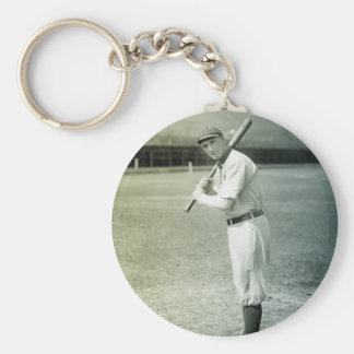 Turn of The Century Baseball Keychain