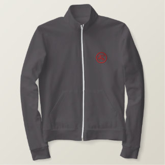 Turn off the water when you brush (men's jacket) embroidered jacket