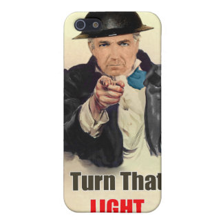 Turn that Light Off WW2 Poster iPhone 5 Case