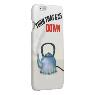 Turn the Gas Down vintage poster iPhone 6 Plus Case
