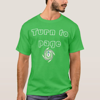 Turn to page T-Shirt
