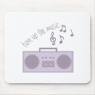 Turn Up Music Mouse Pad