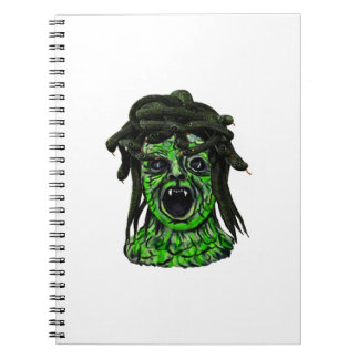 Turned to Stone Spiral Notebook