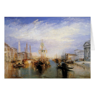 turner, j m w - the grand canal - venice card