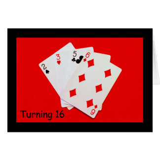 Turning 16 Is A Big Deal! Card