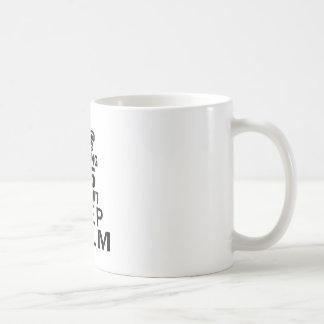 Turning 25 and i can't keep calm coffee mug