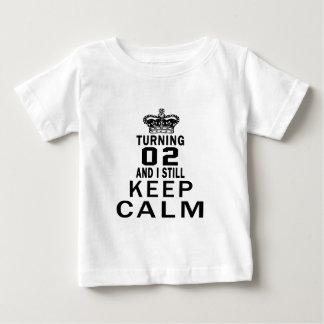 Turning 2 and i still keep calm tee shirt