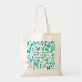 Turning it teal for Tourette Syndrome awareness Tote Bag