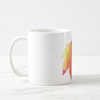 Turning leaf coffee mug