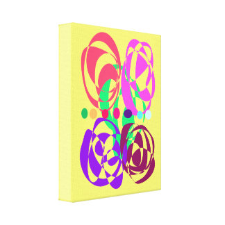 Turning Napes Yellow Canvas Prints